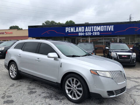 2012 Lincoln MKT for sale at Penland Automotive Group in Laurens SC