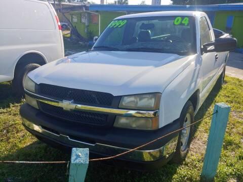 2004 Chevrolet Silverado 1500 for sale at Autos by Tom in Largo FL