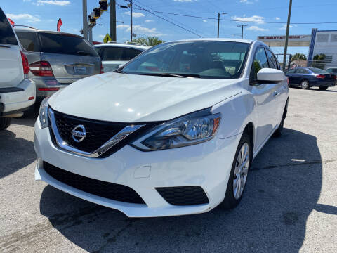 2016 Nissan Sentra for sale at Always Approved Autos in Tampa FL