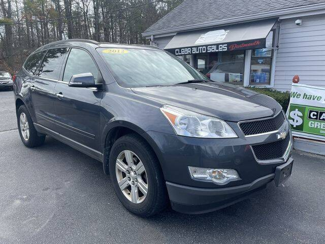 2012 Chevrolet Traverse for sale at Clear Auto Sales 2 in Dartmouth MA