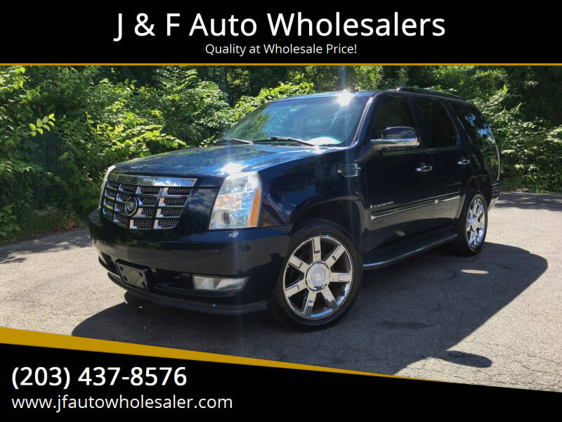 2007 Cadillac Escalade for sale at J & F Auto Wholesalers in Waterbury CT