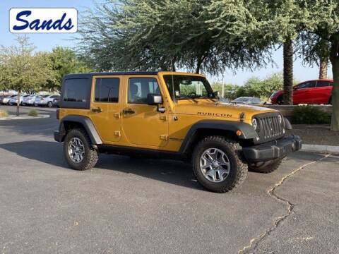 2014 Jeep Wrangler Unlimited for sale at Sands Chevrolet in Surprise AZ