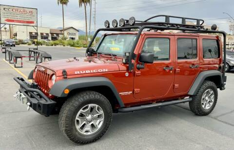2014 Jeep Wrangler Unlimited for sale at Charlie Cheap Car in Las Vegas NV