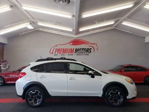2015 Subaru XV Crosstrek for sale at Premium Motors in Villa Park IL