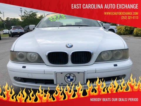 2003 BMW 5 Series for sale at East Carolina Auto Exchange in Greenville NC