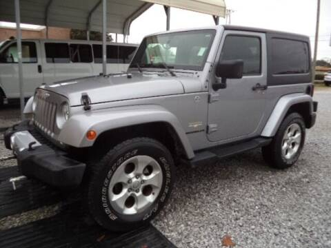 2015 Jeep Wrangler for sale at PICAYUNE AUTO SALES in Picayune MS