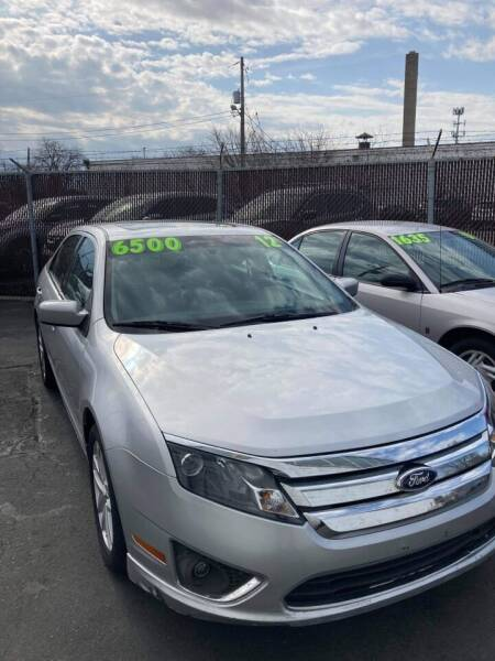 2012 Ford Fusion for sale at Square Business Automotive in Milwaukee WI