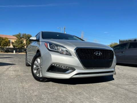 2016 Hyundai Sonata Hybrid for sale at Boktor Motors in Las Vegas NV