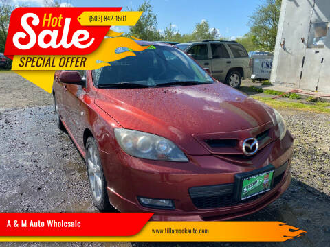 2009 Mazda MAZDA3 for sale at A & M Auto Wholesale in Tillamook OR