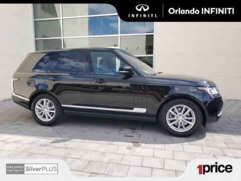 2017 Land Rover Range Rover for sale at Orlando Infiniti in Orlando FL