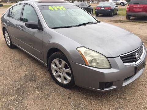 2007 Nissan Maxima for sale at B & B CARS llc in Bossier City LA