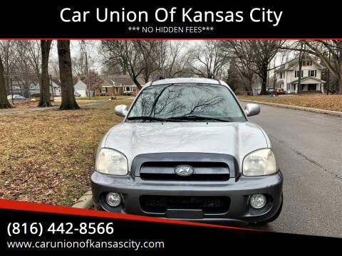 2005 Hyundai Santa Fe for sale at Car Union Of Kansas City in Kansas City MO