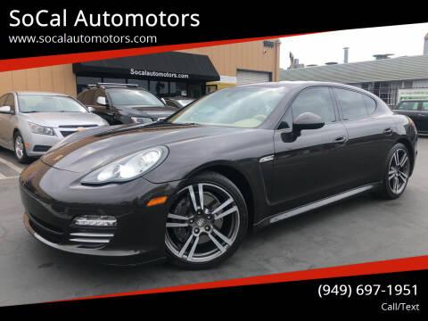 2011 Porsche Panamera for sale at SoCal Auto Motors in Costa Mesa CA