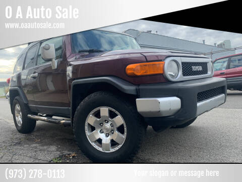 2007 Toyota FJ Cruiser for sale at O A Auto Sale in Paterson NJ
