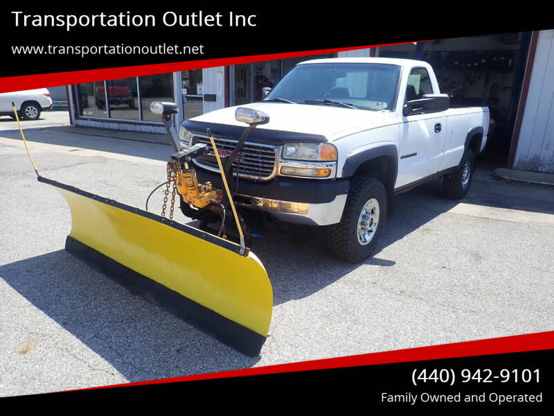 2001 GMC Sierra 2500HD for sale at Transportation Outlet Inc in Eastlake OH