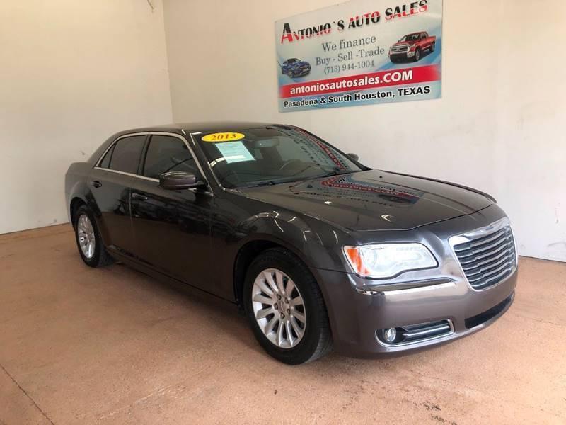 2013 Chrysler 300 for sale at Antonio's Auto Sales - Antonio`s  3001 in Pasadena TX