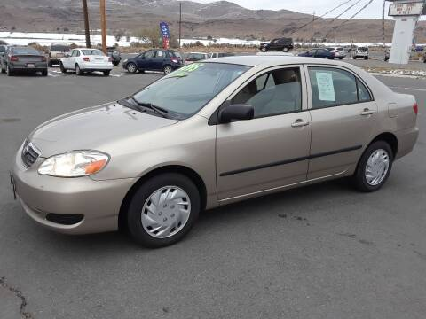 2005 Toyota Corolla for sale at Super Sport Motors LLC in Carson City NV