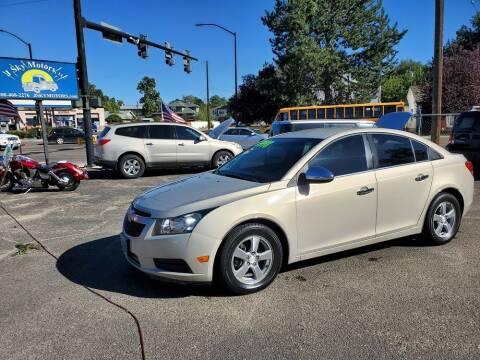 2011 Chevrolet Cruze for sale at J Sky Motors in Nampa ID