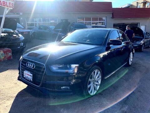 2014 Audi A4 for sale at ELITE MOTOR CARS OF MIAMI in Miami FL
