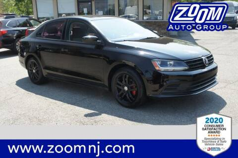 2018 Volkswagen Jetta for sale at Zoom Auto Group in Parsippany NJ