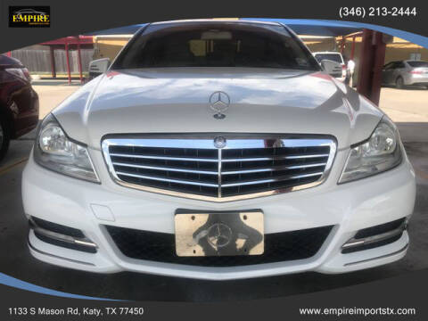 2012 Mercedes-Benz C-Class for sale at EMPIREIMPORTSTX.COM in Katy TX