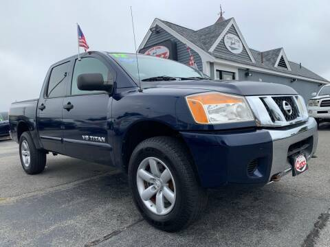 2012 Nissan Titan for sale at Cape Cod Carz in Hyannis MA