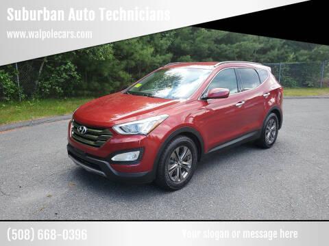 2013 Hyundai Santa Fe Sport for sale at Suburban Auto Technicians LLC in Walpole MA