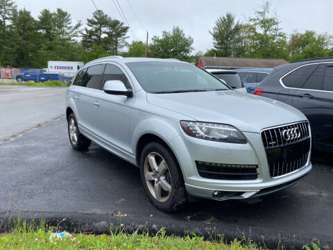 2015 Audi Q7 for sale at Top Quality Auto Sales in Westport MA