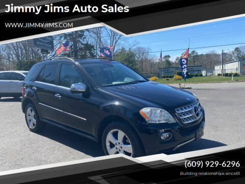 2010 Mercedes-Benz M-Class for sale at Jimmy Jims Auto Sales in Tabernacle NJ