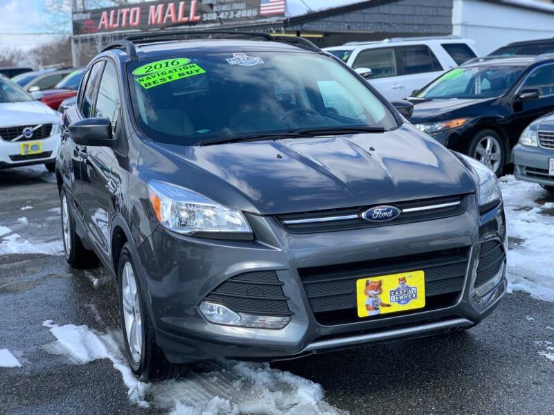 2016 Ford Escape for sale at Milford Auto Mall in Milford MA