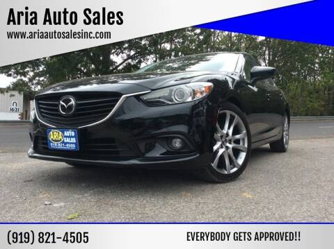 2014 Mazda MAZDA6 for sale at ARIA  AUTO  SALES in Raleigh NC