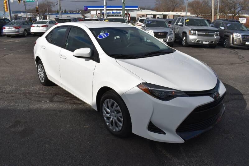 2019 Toyota Corolla for sale at World Class Motors in Rockford IL