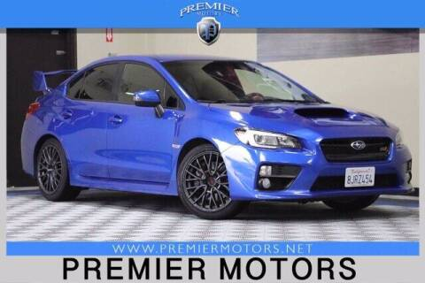 2015 Subaru WRX for sale at Premier Motors in Hayward CA