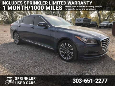 2015 Hyundai Genesis for sale at Sprinkler Used Cars in Longmont CO