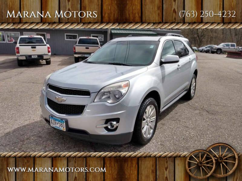 2011 Chevrolet Equinox for sale at Marana Motors in Princeton MN