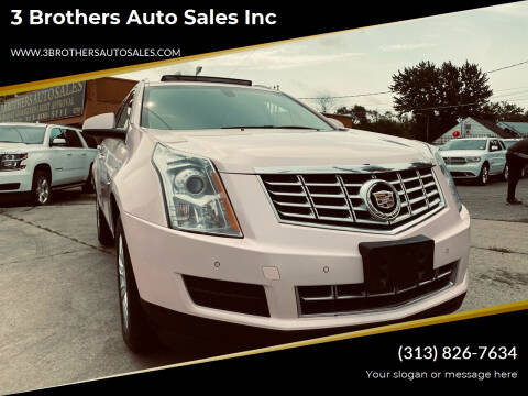 2014 Cadillac SRX for sale at 3 Brothers Auto Sales Inc in Detroit MI