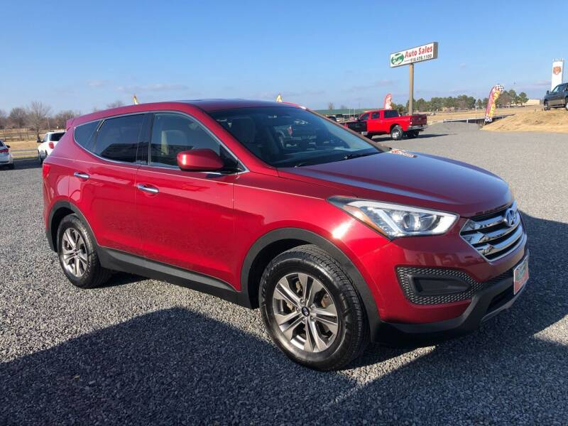 2016 Hyundai Santa Fe Sport for sale at RAYMOND TAYLOR AUTO SALES in Fort Gibson OK