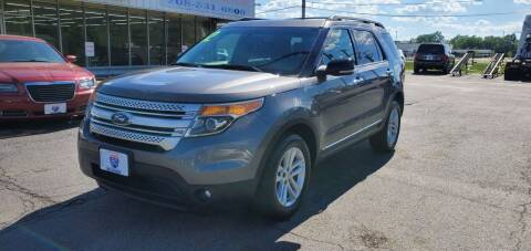 2012 Ford Explorer for sale at I-80 Auto Sales in Hazel Crest IL