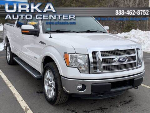 2011 Ford F-150 for sale at Urka Auto Center in Ludington MI