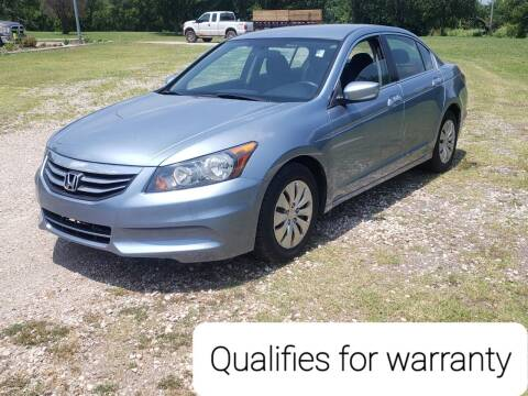 2012 Honda Accord for sale at NOTE CITY AUTO SALES in Oklahoma City OK