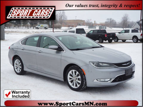 2016 Chrysler 200 for sale at SPORT CARS in Norwood MN