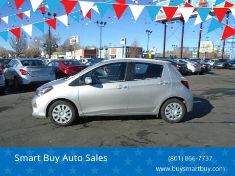 2017 Toyota Yaris for sale at Smart Buy Auto Sales in Ogden UT