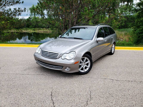 2005 Mercedes-Benz C-Class for sale at Excalibur Auto Sales in Palatine IL