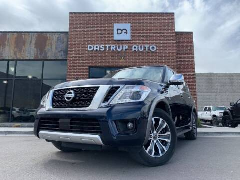 2017 Nissan Armada for sale at Dastrup Auto in Lindon UT