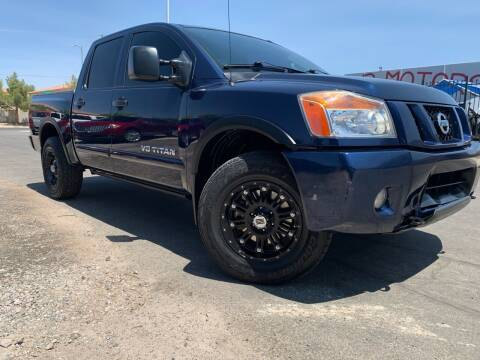 2012 Nissan Titan for sale at Boktor Motors in Las Vegas NV
