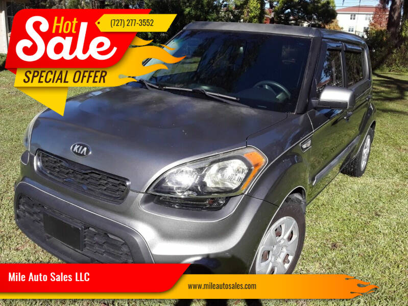 2013 Kia Soul for sale at Mile Auto Sales LLC in Holiday FL