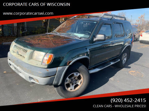 2000 Nissan Xterra for sale at CORPORATE CARS OF WISCONSIN in Sheboygan WI