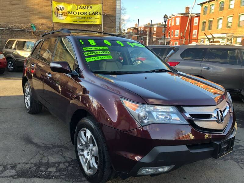 2008 Acura MDX for sale at James Motor Cars in Hartford CT