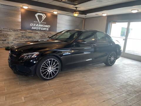 2018 Mercedes-Benz C-Class for sale at Diamond Motors in Pecatonica IL
