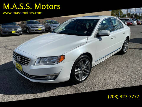 2016 Volvo S80 for sale at M.A.S.S. Motors - MASS MOTORS in Boise ID